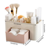 Acryl Make-up Box Organizer großen Kapazitäts-Schmuck kosmetischer Aufbewahrungsbehälter mit Schubladen aus Kunststoff Lippenstift Halter Sundries Containern