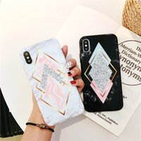 Soft TPU Marble phone case for iPhone 6 6S plus luxury girls...