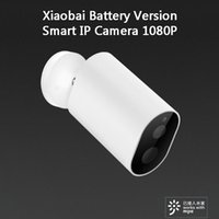 Xiaomi Youpin Xiaobai Battery Versão inteligente IP Câmera 1080P 8 LED IP66 Waterproof Outdoor Wireless Monitor de CCTV De Xiaomi Eco-System