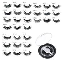 3D Nerzhaar Falsche Wimpern Wispy Natural Long Glam Lashes 100% Grausamkeitsfrei Wiederverwendbare Augenverlängerung Makeup Tools