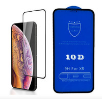 10D 전체 커버 강화 유리 화면 보호기 아이폰 (12) 미니 11 프로 X가 최대 XR X 8 7 6S 플러스