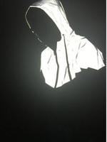 2017 هوب هوب جديد رجل إمرأة دثار الخريف المرقعة عاكس 3M سترات مضادة للماء سترة واقية الرجال معطف تريند العلامة التجارية