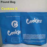 Новейшие печенье 1 фунт сумка 16 унций белый рутан запах пахнуть упаковки сумка печенье фунт пакет 420 сухой травы цветы