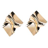 Dame Retro Mode Legierung Gold Aussage Ohrringe Punk Style Party Frauen Schmuck Vintage Tropfen Baumeln Ohrringe