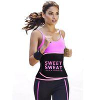 Bel eğitmen Zayıflama Kemeri bel şekillendirici Karın Kontrol tatlı ter Kemer modelleme kayış vücut şekillendirici Kadın spor spor kemer