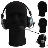 2020 Yeni Siyah Köpük Kafa Modeli Erkek Erkek Manken Strafor Köpük Mankeni Kafa Modeli Peruk Gözlük Şapka Ekran Manken Standı