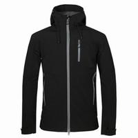 novos homens HELLY revestimento do inverno com capuz Softshell para à prova de vento e impermeável Casaco Soft Shell Jacket HANSEN Jackets Coats 17162
