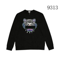 2019 Men Brand Hoodies Sweatshirts Tiger Head Embroidery Lux...