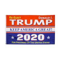 2020 Donald Trump Flags Keep America Große Flagge CA US Election 90x150cm Bedruckt Custom Garden Flag Banner LJJA4055