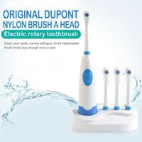 Rotary Spazzolino elettrico impermeabile sonico elettrico di Smart Bluetooth con 3 teste della spazzola Dental Care