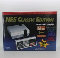 미니 게임 박스 플레이어 클래식 에디션 홈 엔터테인먼트 시스템 TV 비디오 핸드 헬드 게임 콘솔 NES 600-in 8 비트 듀얼 게임 패드