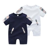824dd239f3 Moda salvaje niños niñas otoño mamelucos Nuevos niños pijamas bebé  mamelucos bebé recién nacido ropa manga