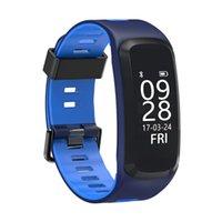 F4 Smart-Armband-Blutdruck-Puls-Monitor-Smart Watch Bluetooth Pedometer Sport Smart-Armbanduhr für iPhone iOS Android-Uhr