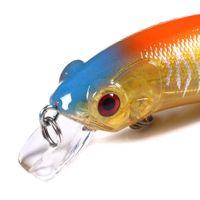 Newup 1PCS أسماك الصيد السحر 60MM 9.8g الاصطناعي بيت الصلب اليابان البسيطة السمك Wobblers البلاستيك الملونة