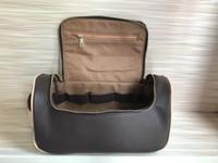 Sacos de cosméticos único zíper das mulheres que viajam mulheres de design higiênico saco de moda lavar saco de grande capacidade sacos cosméticos maquiagem higiene Pou