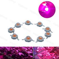 Grânulos claros 1W 3W 5W Alta potência LED Acessórios Acessórios Bulbo Completo Spectrum Para Grwon Luzes Estufa Crescer Plantas Da Barraca Flower EUB