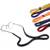 Flutuante Natação Esporte Óculos de Sol Cinta Eyewear Óculos Anti-slip Cord Cadeia Corda Titular Acessórios de Moda presente de Natal