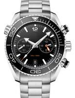 A-2813 Bracelet en acier inoxydable Mécanique de luxe pour hommes Mécanique Mouvement automatique montre mens montres Self-wind Montres 007 Skyfall Montres