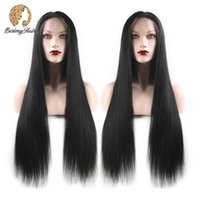 Berimy Straight Lace Front Front Human Hair Perücken Pre Zupfehaare 150% 180% Dichte Dichte 13x4 Spitze Front Perücke Brazilian Perücke Remy Haarperücken