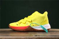 2019 جديد وصول رجل كيري الأحذية TV PE أحذية كرة السلة 5 للرخيصة 20th الذكرى الإسفنج X IRVVVE 5S V خمسة أحذية رياضية فاخرة US12