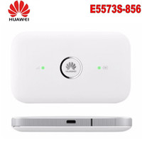 مقفلة Huawei E5573S-856 E5573 Dongle Wifi Router Mobile Hotspot Wireless 4G LTE FDD الفرقة المحمولة راوتر + 2PCS الهوائي