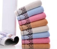Cotton Face Towel Colorful Soft Water Absorbent Towels For B...