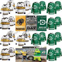 Nashville Raubtiere Jersey 95 Matt Duchee 59 Römische Josi Hockey-Trikots Dallas Stars Jersey 2020 Klassische Nähte grüne Hockey-Trikots