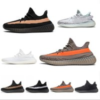 adidas Yeezy off white 350 boost  2019 Mens Shoes Sport Casual Running Sesame
