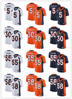 Denver Men Women Youth Broncos 5 Joe Flacco 30 Phillip Linds...