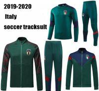 19 20 European Tasse Italien Jacke Trainingsanzug Fußball Set Immobilien Italien Belotti Verratti Chiellini Insignente Fußballjacke Sportswear Calcio Hot