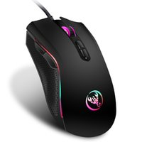 Мода USB Gaming Wired Mouse LED Красочное дыхание 3200DPI Оптический компьютер Мини Мышь для ПК Ноутбук Офис Mice Silhing