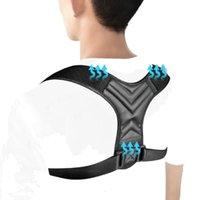 New Brace Support Belt Adjustable Back Posture Corrector Cla...