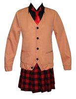Gabriel DropOut Kurumizawa Satanichia McDowell Cosplay Kostüm Okul Üniforması Spor Takım Elbise Tam Setleri