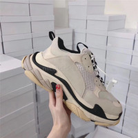 Bred Retro Femmes Hommes Sneaker Chaussures Casual Mesh pour Formateurs Old Dad Triple S Party Tendance Chaussures Lifestyle Daily chaussures à roulettes