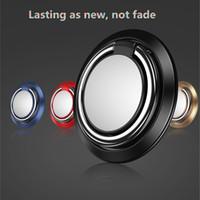 Новый 360 градусов металлический палец кольцо держатель мобильного телефона подставка для кольца для iPhone Samsung мобильных телефонов с пакетом