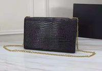 High Handbags Women Designer New Leather Purse Gold Quality Bags Crossbody Famous Shoulder Bag Chain Wallet Kwsbw