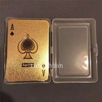 Trendy Tyrant Gold Playing Cards Personalized Creative Gold ...