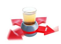Vente en gros Spin Shot Jeu d'Turntable Roulette en verre Spinning Party Fun Accueil Jouets pour adultes verre nouveauté Jeu d'Drop Ship FT13