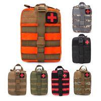 Kit di pronto soccorso tattico sacchetto vuoto EMT medica di emergenza il sacchetto di Molle compatta IFAK universale Custodia per la casa Outdoor Arrampicata Escursioni