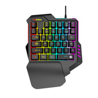 OPQ- Fantech K512 Rgb Backlights 35Keys One- Hand Ergonomic Ga...