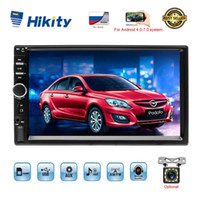 "Hikity 2 din Car Multimedia Player Autoradio 2DIN stereo touch screen da 7"" Video MP5 Player Auto Radio macchina fotografica di sostegno DVD"