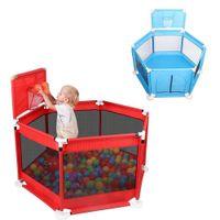 Bebek Çocuk Parkı Çit Katlama Bariyer Çocuk Parkı Çocuk Oyun Kalem Oxford Bezi Oyun Bebekler Topu Bebek Eskrim Çocuk Parkı Yard oyna