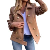 Spring European Style Cashmere Coat Woman Jackets Clothing W...