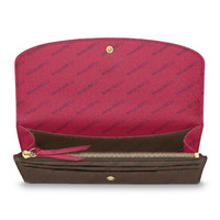 Bolsas femininas carteiras zipper bolsa de carteira feminina bolsa de cartão de moda titular bolso longo mulheres sacolas com caixa de pó