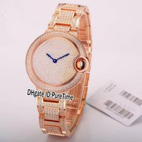 Best Version 33mm W6920084 Rose Gold All Diamond Bezel Dial ...