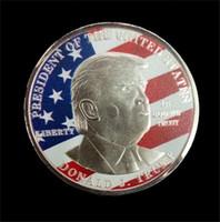 2020 دونالد ترامب الرئيس عملة الدولار الأمريكي الذهب احباط المعدنية التذكارية عملة الحرف أمريكا الانتخابات العامة خطاب كرافت E3409