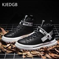 KJEDGB Sonbahar Yeni Yüksek üst Erkek Günlük Ayakkabılar Açık Kaymaz Sneaker Erkekler Tasarımcı Ayakkabı Bilek Boots Erkek Destek Dropshipping