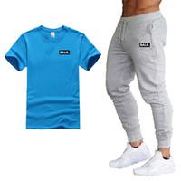 Diseñador Balr nueva camiseta + pantalones chinos del basculador de los hombres de la nueva manera Harem largo Balr Pantalones para hombres Pantalones