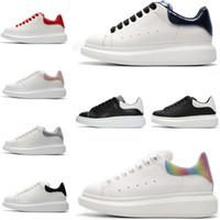 Hommes Femmes haute qualityPlatform Loisirs Chaussures Designer Chaussures de sport mode de luxe en cuir véritable Lovers chausseurs Casual Designer Shoes