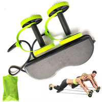 Ab Roller Wheel Abdominal Trainer Wheel Arm Waist Leg Exerci...